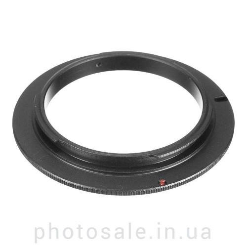 Реверсивное кольцо для макросъемки Nikon – 58 мм