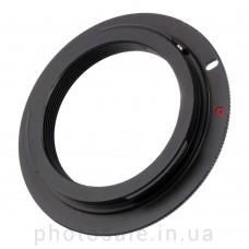 Переходник М42 – Canon EF без чипа