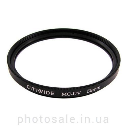 Ультрафиолетовый фильтр CITIWIDE UV-MC 58 мм