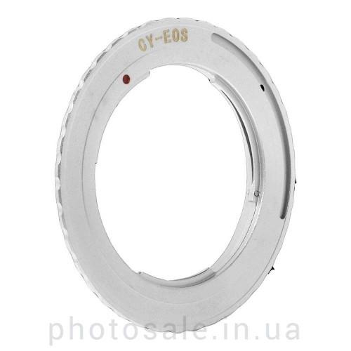 Переходник Contax/Yashica – Canon EF без чипа