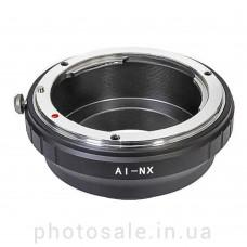 Переходник Nikon F – Samsung NX