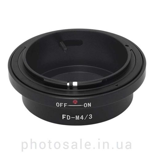 Переходник Canon FD – micro 4/3