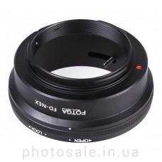 Переходник Canon FD – Sony E-mount (NEX)