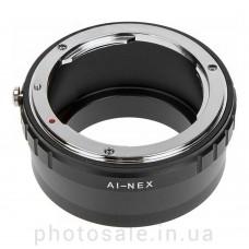 Переходник Nikon F – Sony E-mount (NEX)