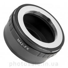 Переходник М42 – Fujifilm X-mount