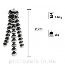 Гибкий мини-штатив до 1 кг для фотоаппарата
