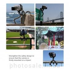Гибкий мини-штатив до 2 кг для фотоаппарата