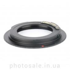 Переходник М42 – Canon EF с чипом + крышка