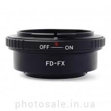 Переходник Canon FD – Fujifilm X-mount