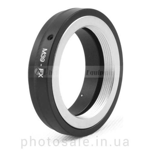 Переходник М39 – Fujifilm X-mount