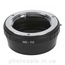 Переходник Minolta MD/MC – Fujifilm X-mount