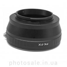 Переходник Pentax K – Fujifilm X-mount
