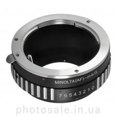 Переходник Sony alpha / Minolta A – micro 4/3