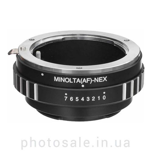 Переходник Sony alpha / Minolta A – Sony E-mount (NEX)