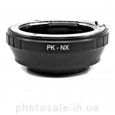 Переходник Pentax K – Samsung NX