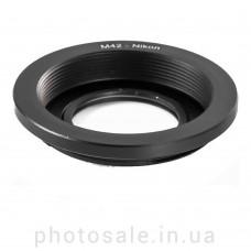 Переходник М42 – Nikon F с линзой на бесконечность