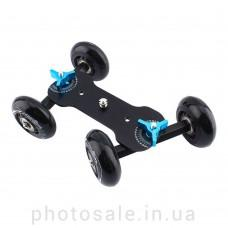 Минитележка Dolly – скейтер, слайдер для камеры