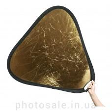 Треугольный фотоотражатель, рефлектор 60 см