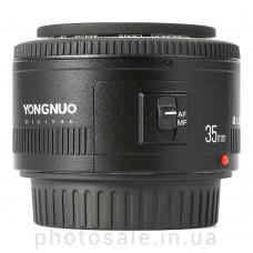 Объектив Yongnuo YN-35 для Canon – 35 mm F/2.0