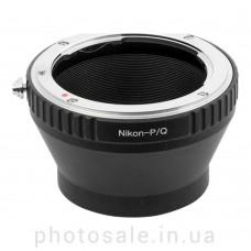 Переходник Nikon F – Pentax Q (PQ)