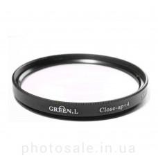 Макролинза GreenL Close-up +4 52 мм