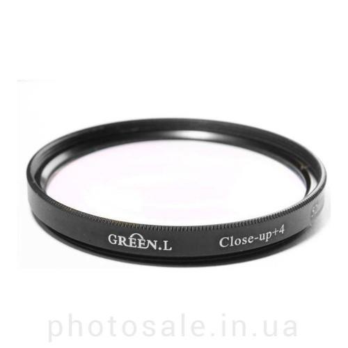 Макролинза GreenL Close-up +4 58 мм