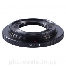 Переходник C-mount – Fujifilm X-mount