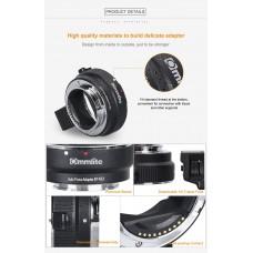Переходник Commlite Canon EF(EF-S) – Fujifilm (X-mount) автофокусный