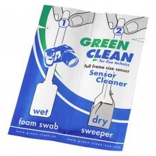 Швабры для чистки полноразмерных матриц Green Clean SC-4060-1 (влажная, сухая)