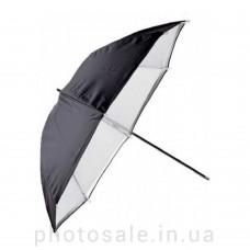Фотозонт студийный Mircopro UB-007 85 см – черный, белый, на просвет