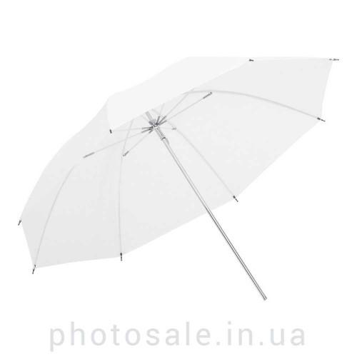 Фотозонт студийный Mircopro UB-001soft 85 см – белый на просвет
