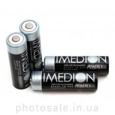 Аккумуляторы AA PowerEx IMEDION 2400mAh Ni-MH - 4 шт.