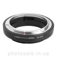 Переходник Canon FD – Canon EF без чипа