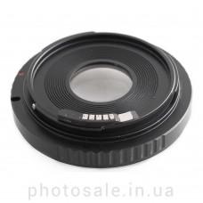 Переходник Minolta MD/MC – Canon EF с линзой